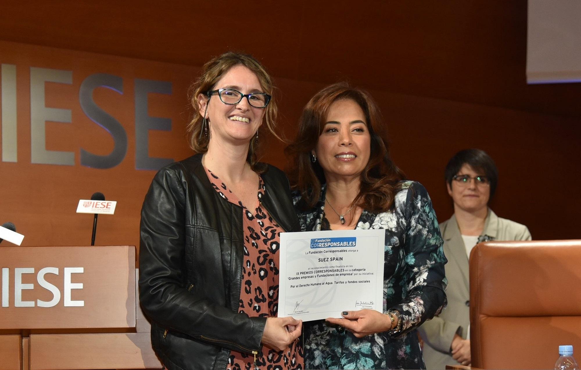 SUEZ Noticia Premios Corresponsables
