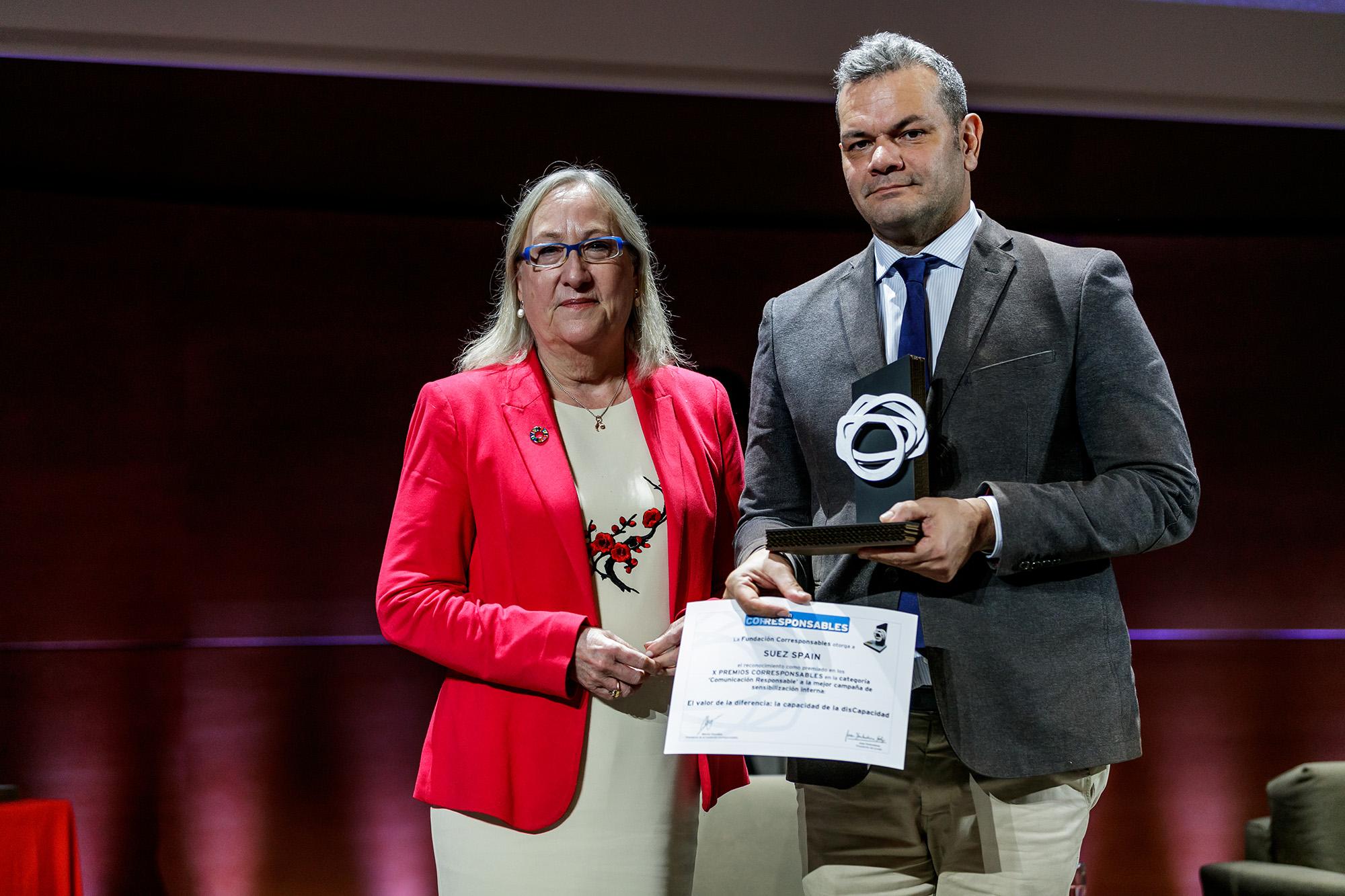 SUEZ Noticias Galardon X Premios Corresponsables