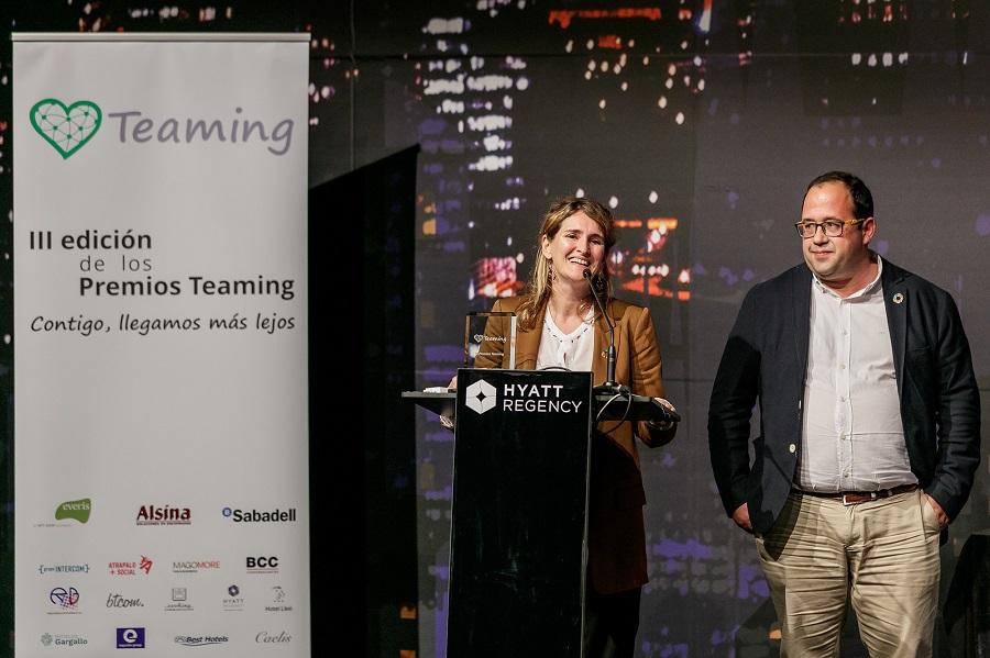 SUEZ Premio Teaming Empresa Mas Solidaria I