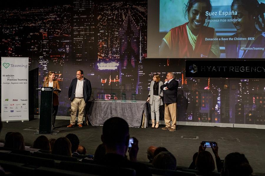 SUEZ Premio Teaming Empresa Mas Solidaria II