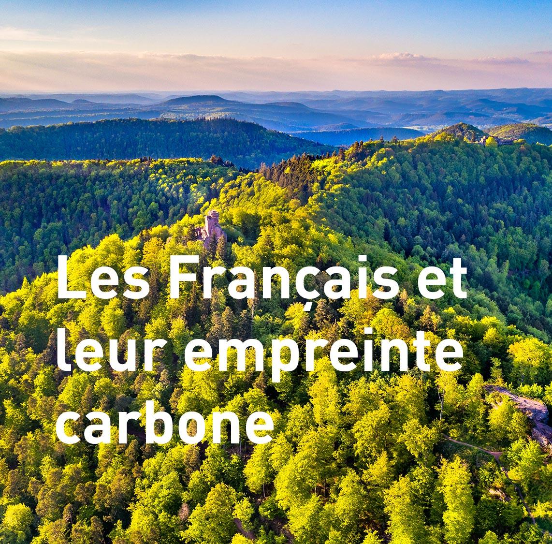 francais et emmpreinte carbone