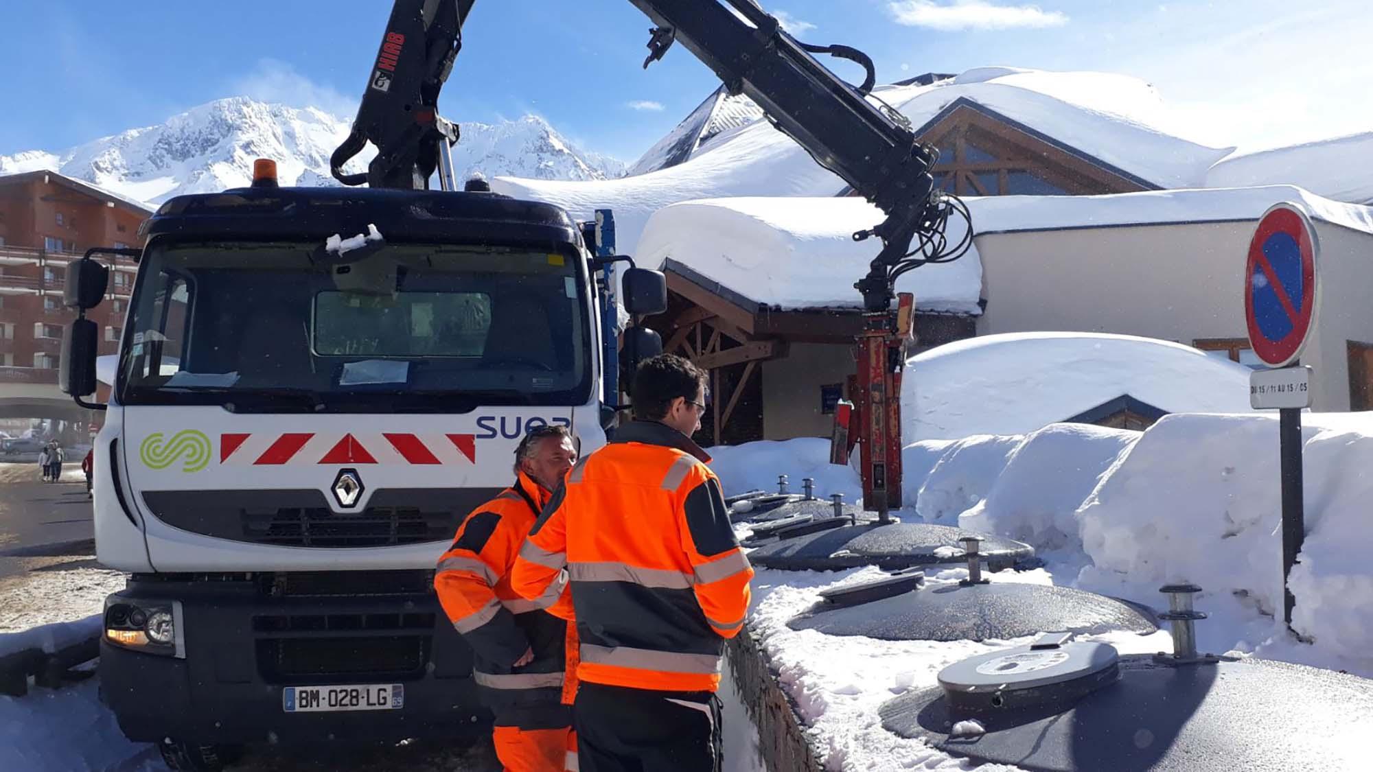 gestion des déchets et montagne