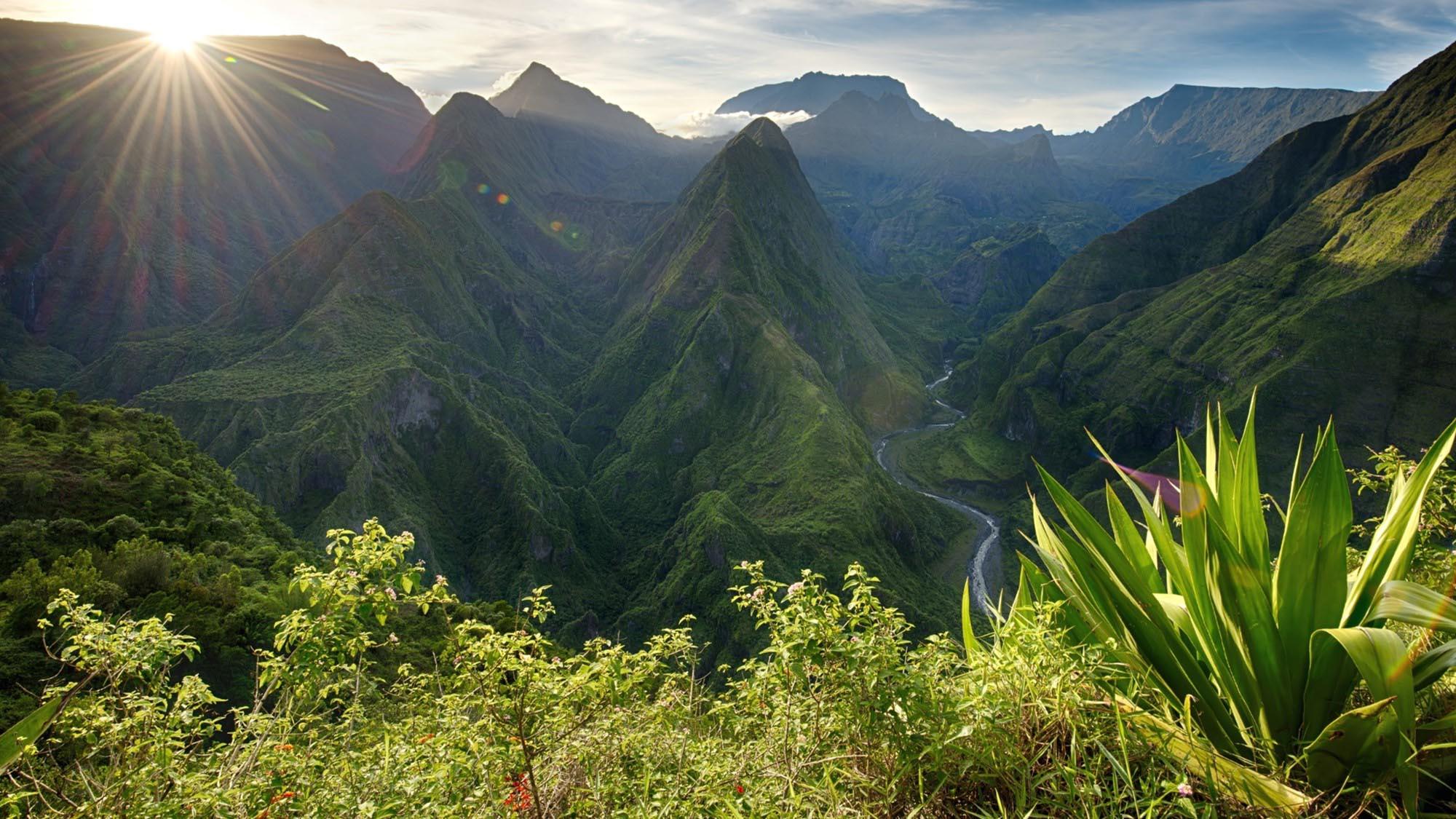 Paysage Ile de La Reunion