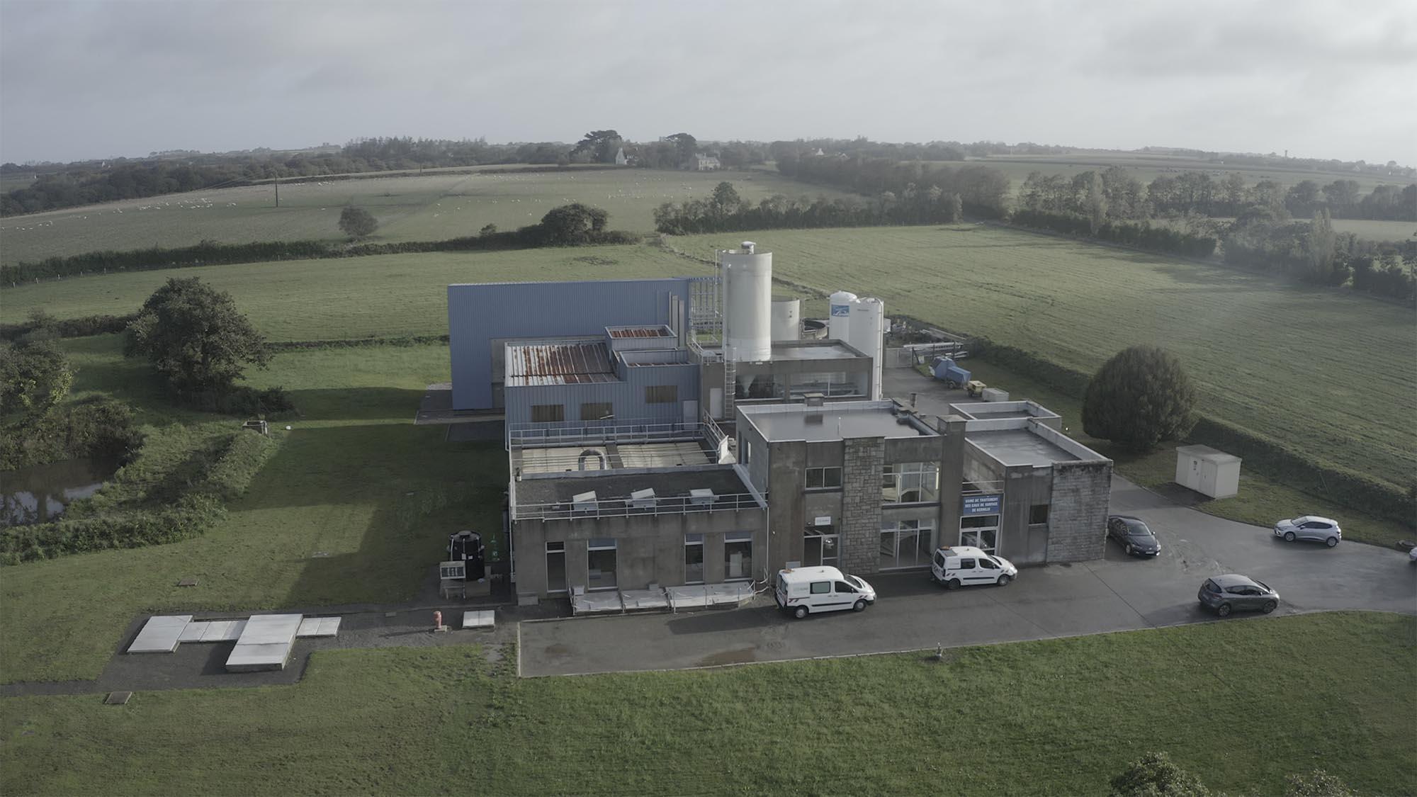usine eau potable Kernilis