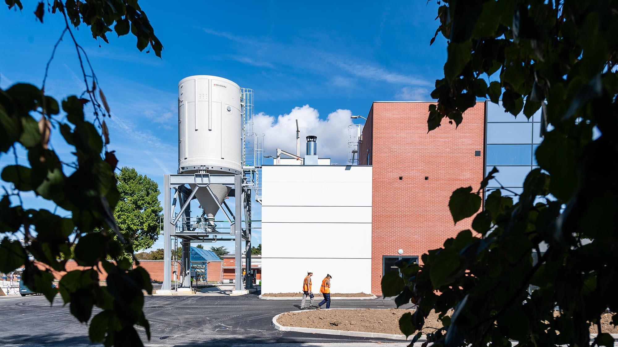 usine Pecq Croissy eau potable