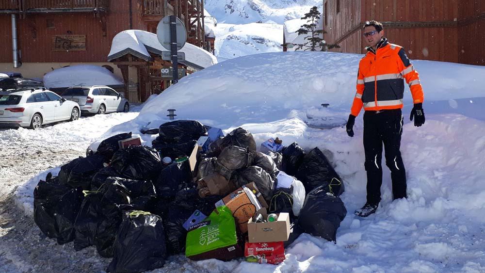 gestion des déchets en montagne
