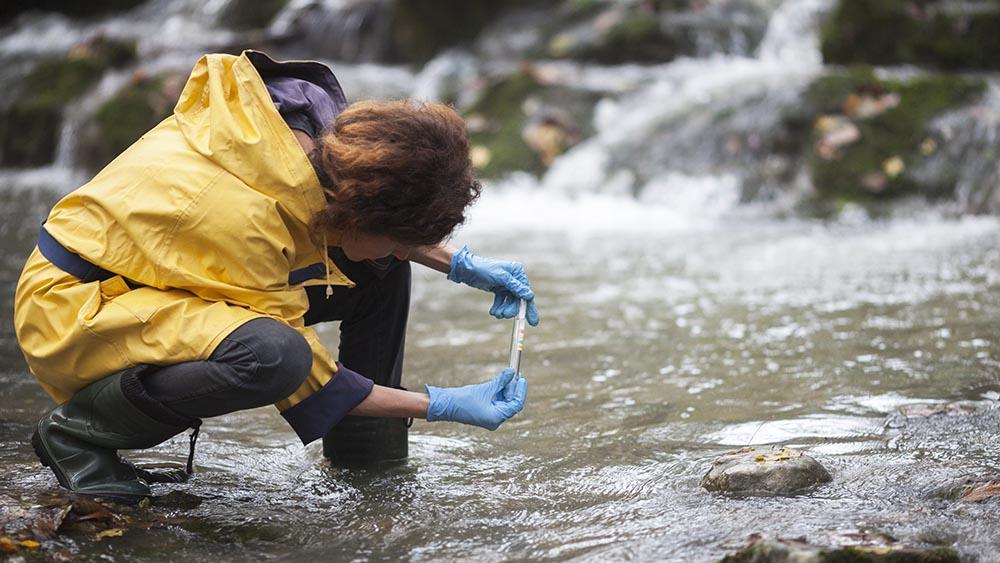 prelevement eau riviere