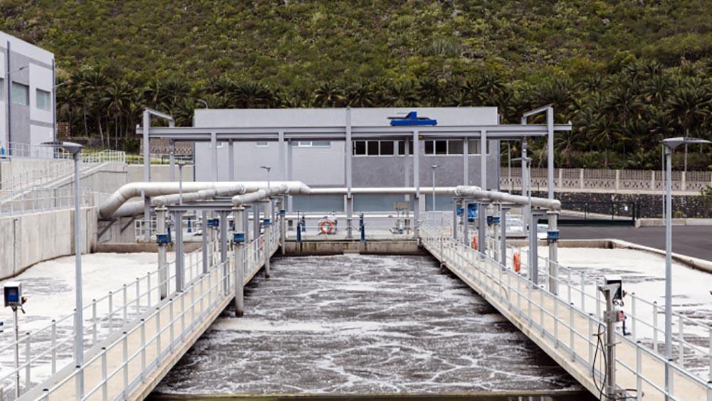 usine traitement  eaux usees