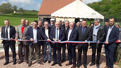 Inauguration usine charolles
