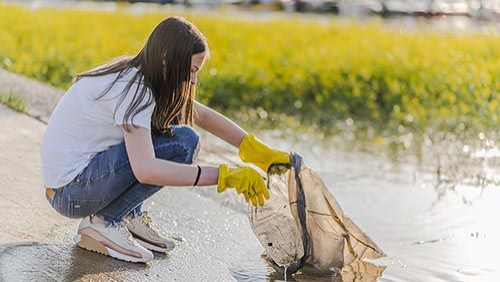 ramassage dechets riviere