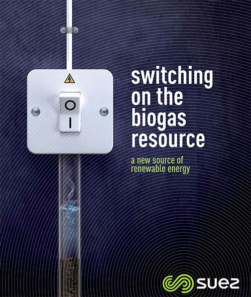 Couverture de la brochure biogaz
