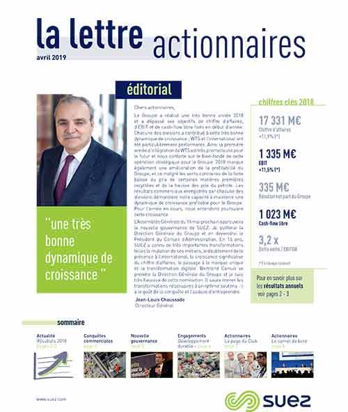 Lettre actionnaires avril 2019 FR