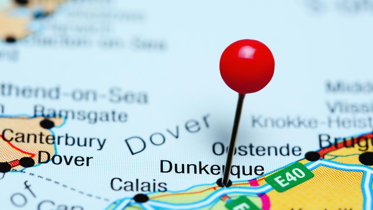 map carte Dunkerque