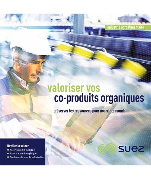 Couverture d'insert/brochure sur la valorisation des coproduits organiques