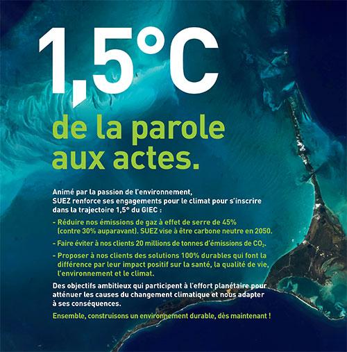 SUEZ COP25 Climat FR