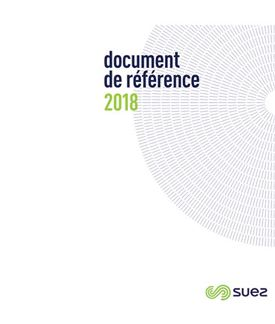 SUEZ Document de reference 2018 FR
