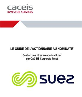 SUEZ Guide de l actionnaire 2020 FR