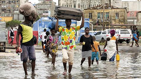 Cyclone IDAI au Mozambique soutenez notre action