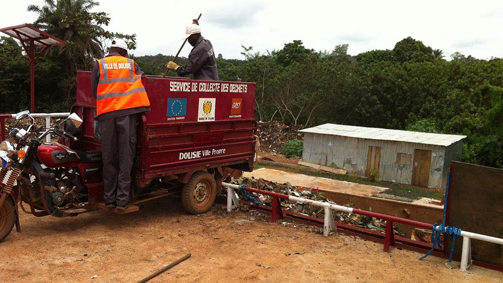 Fonds SUEZ initiatives-GRET-gestion des déchets au Congo à Brazzaville