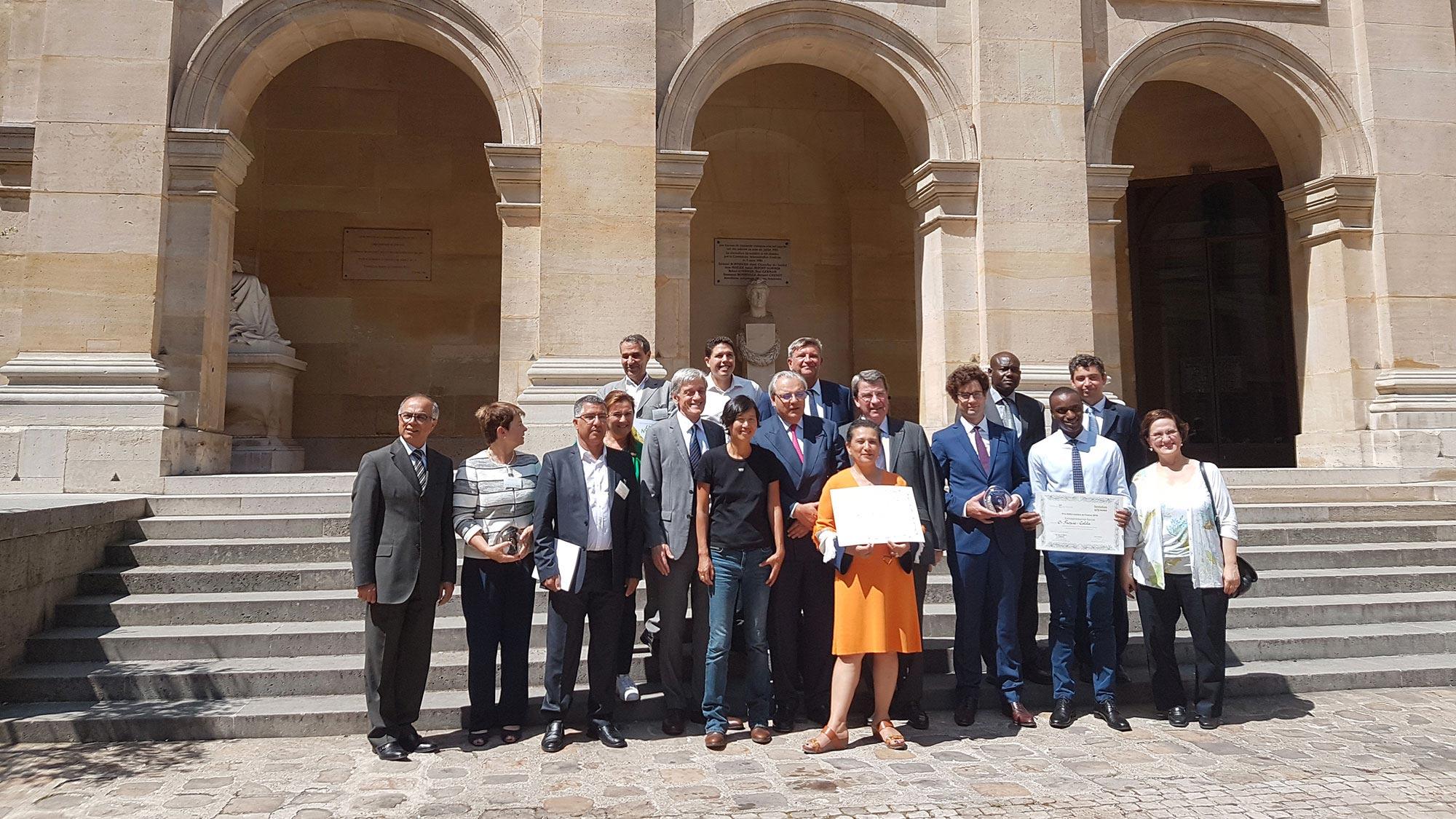 Prix SUEZ Institut de France 2018