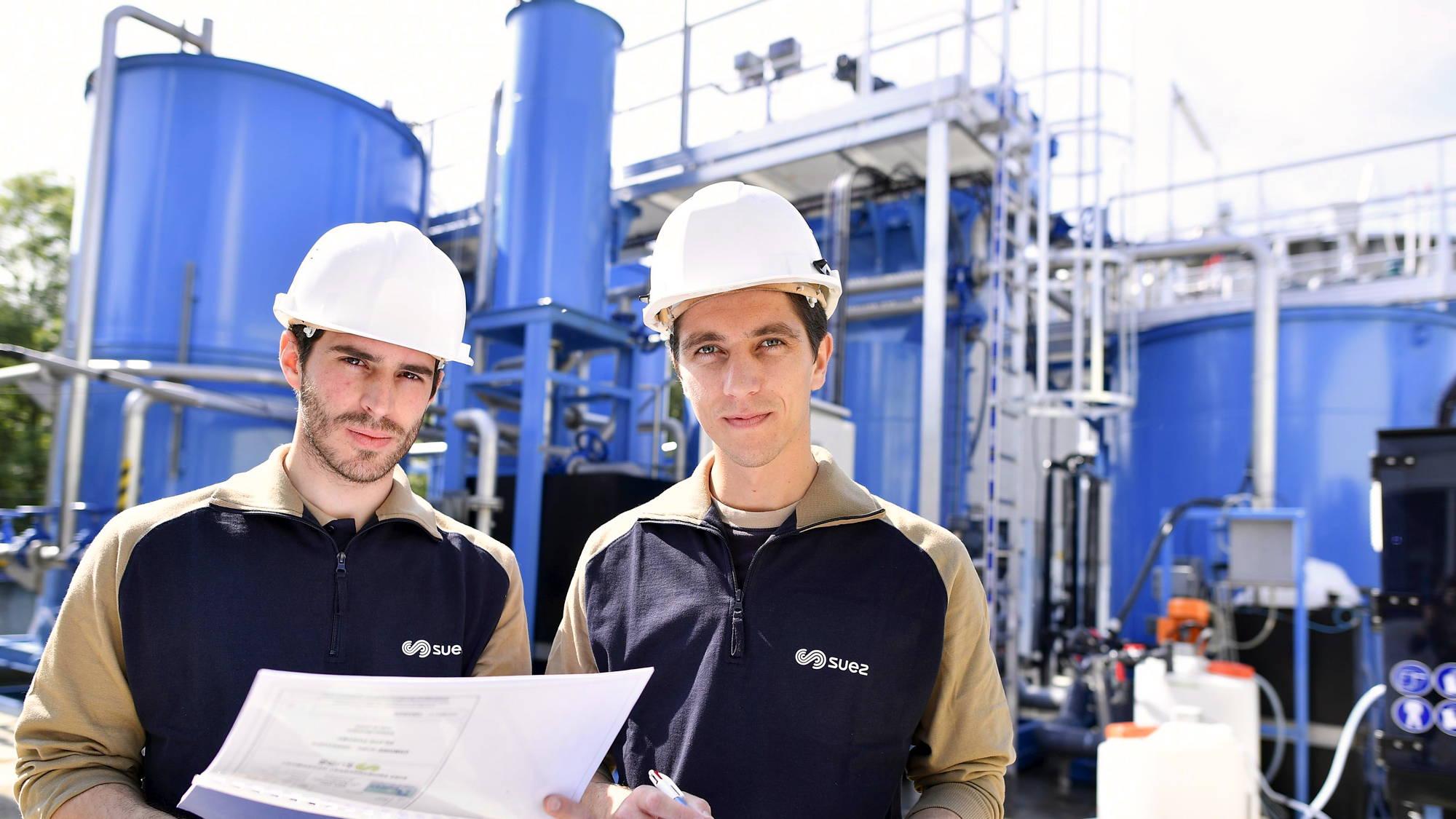 Working at SUEZ industry