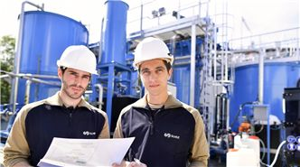 Working at SUEZ industry