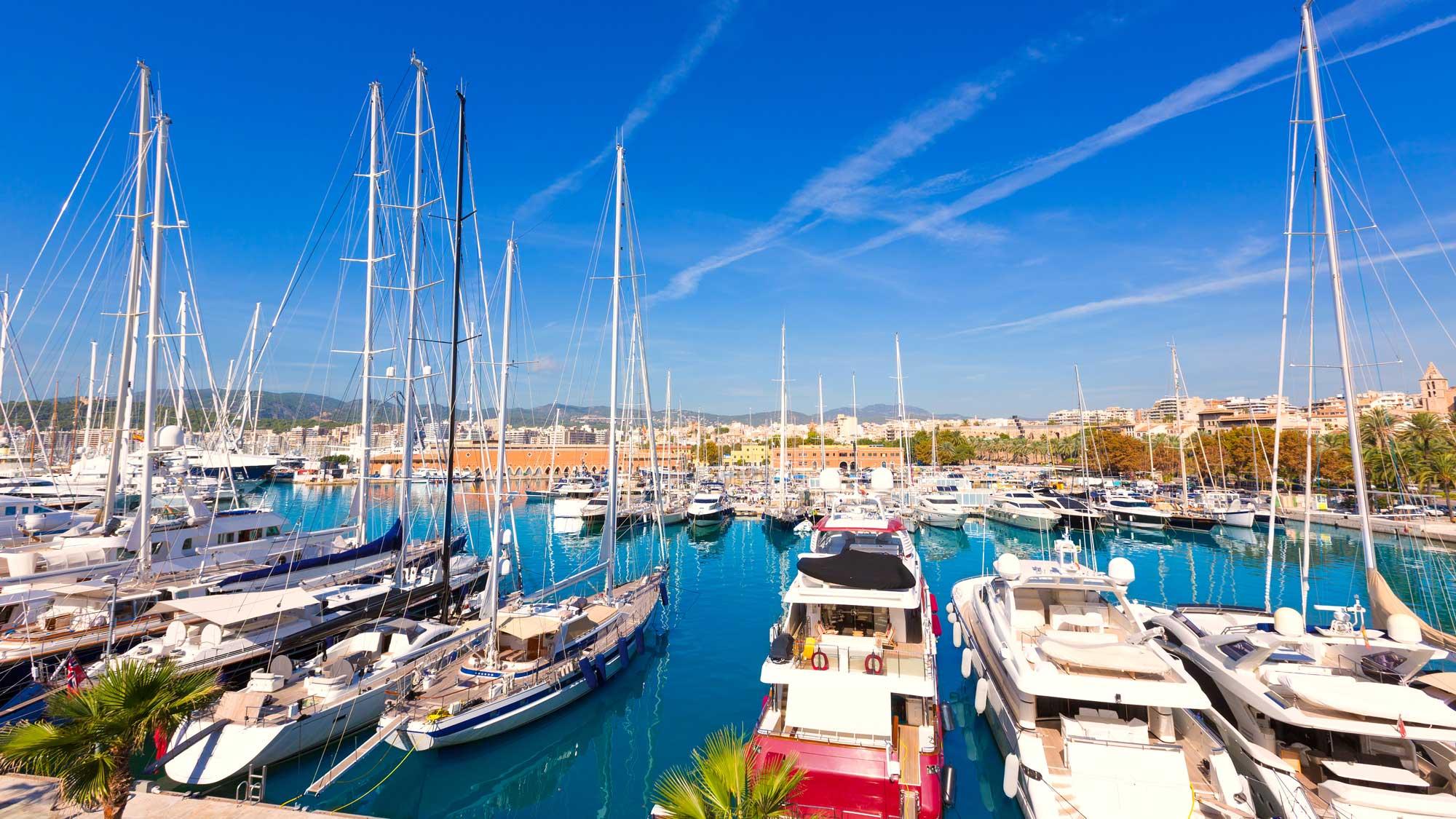 Balearic islands port