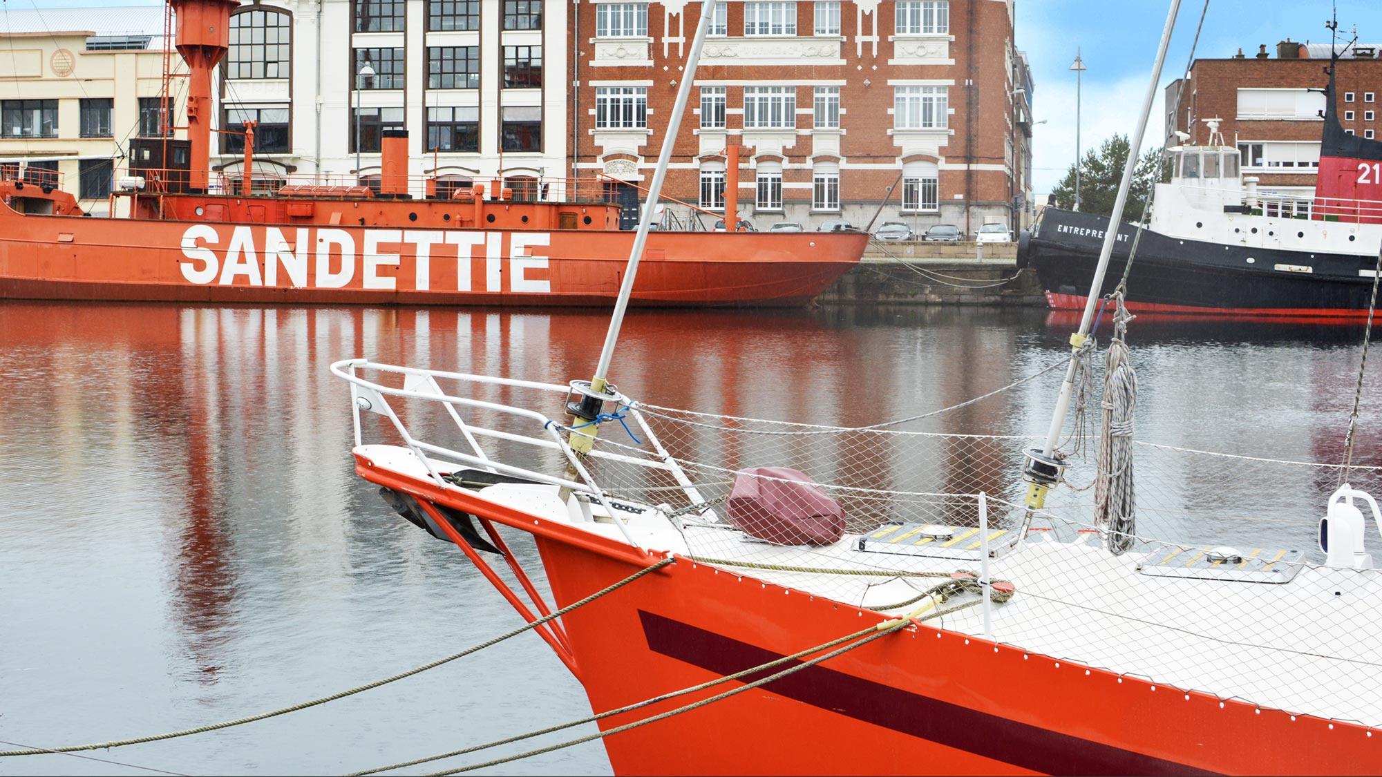 bateau dunkerque quai