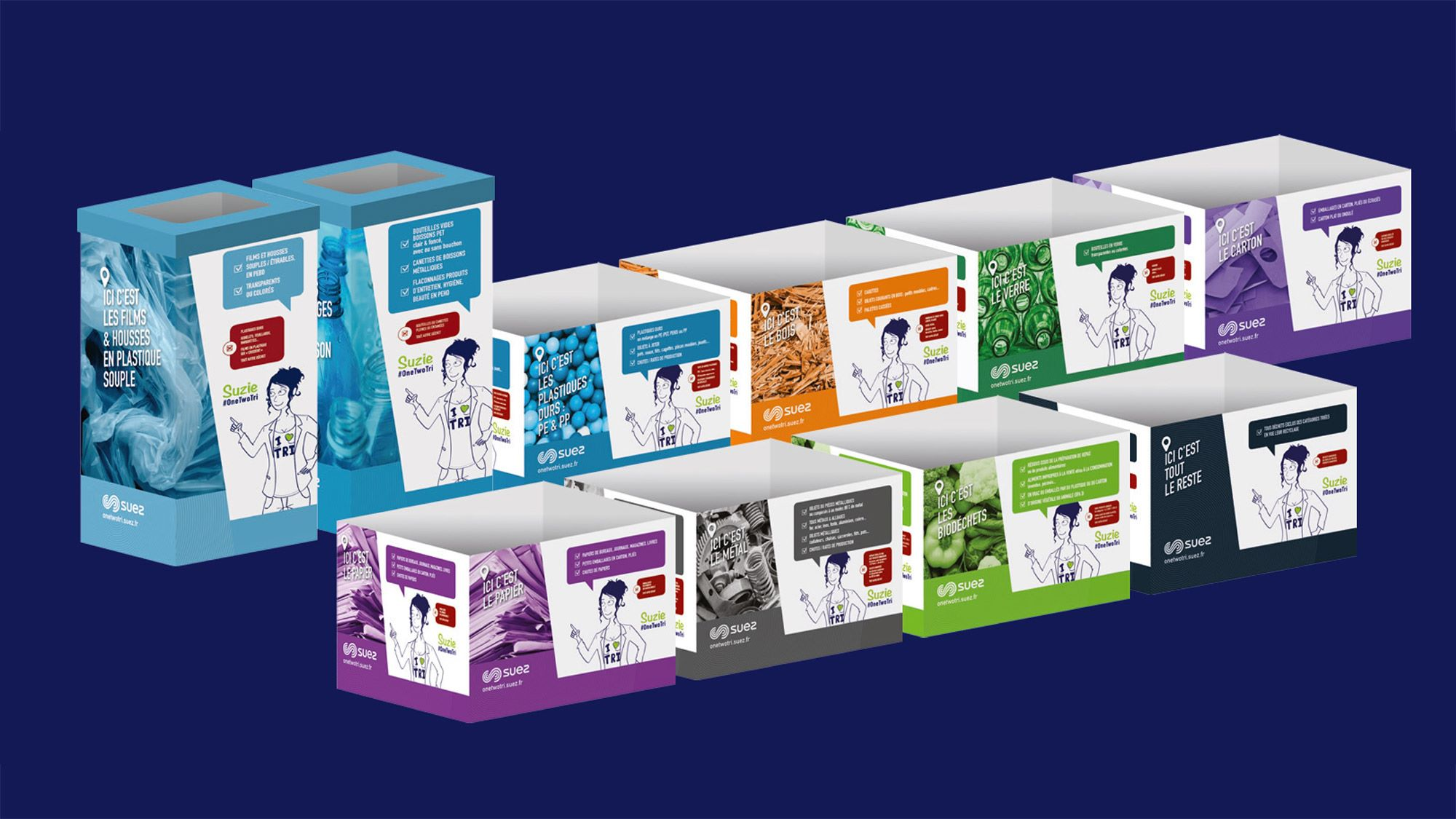 SUEZ launches a box-based sorting solution to simplify the management of diffuse waste in companies