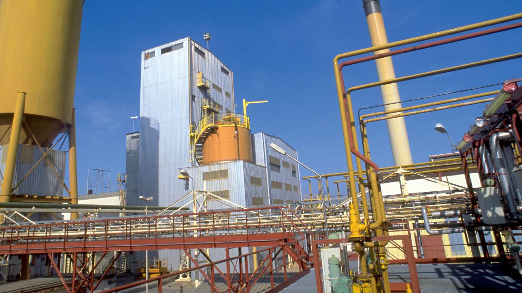 Areva Comurhex stormwater treatment