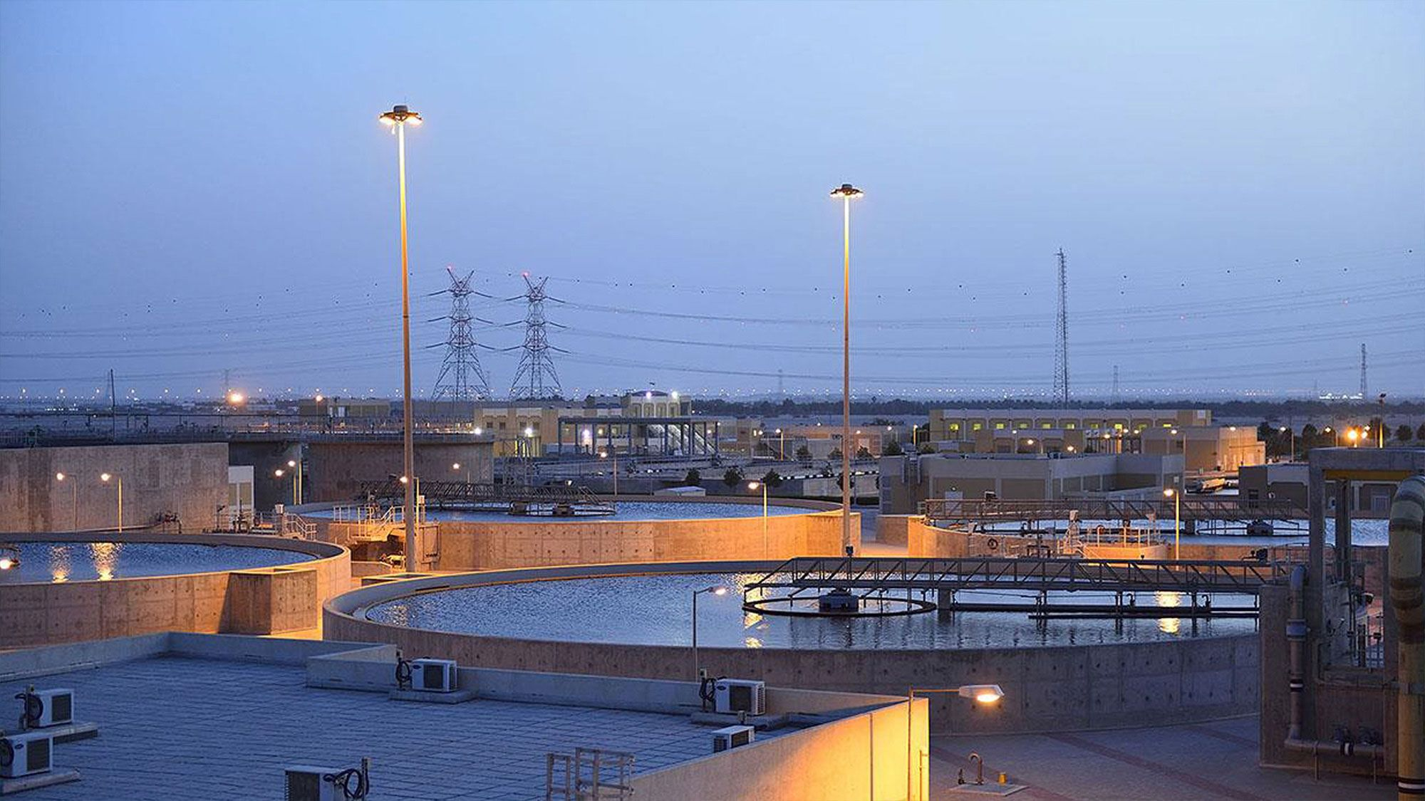 Usine de recyclage des eaux usées de Doha