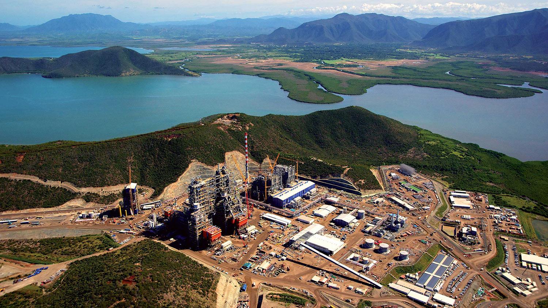 site minier de Koniambo en nouvelle caledonie