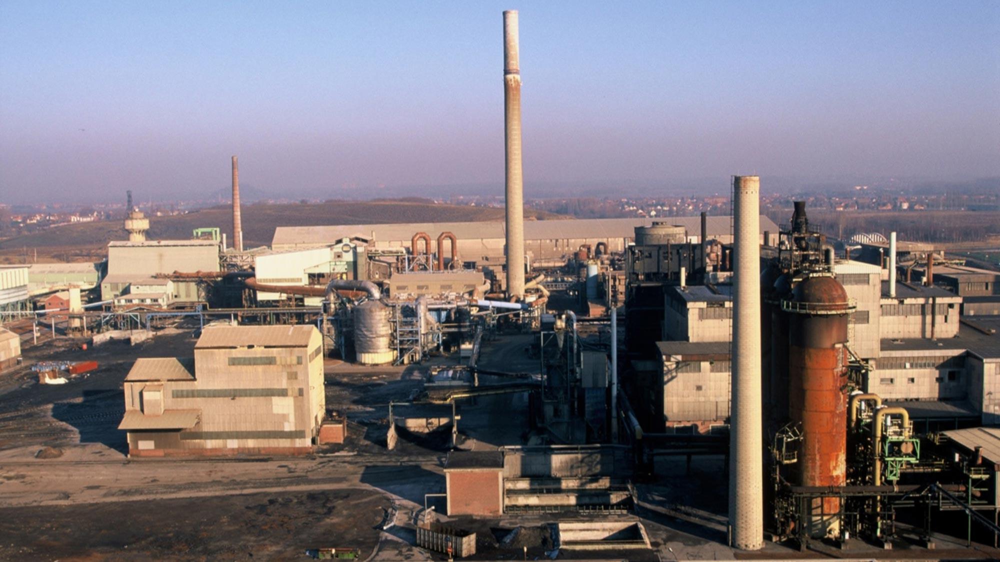 Metaleurop nord plant in France