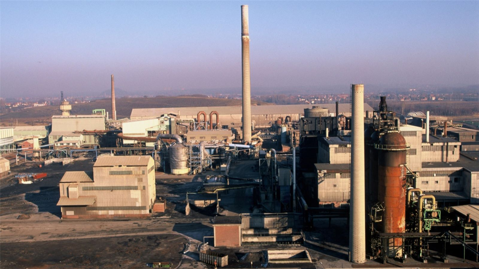 Metaleurop nord plant in France