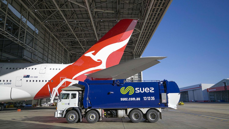 Qantas airline company
