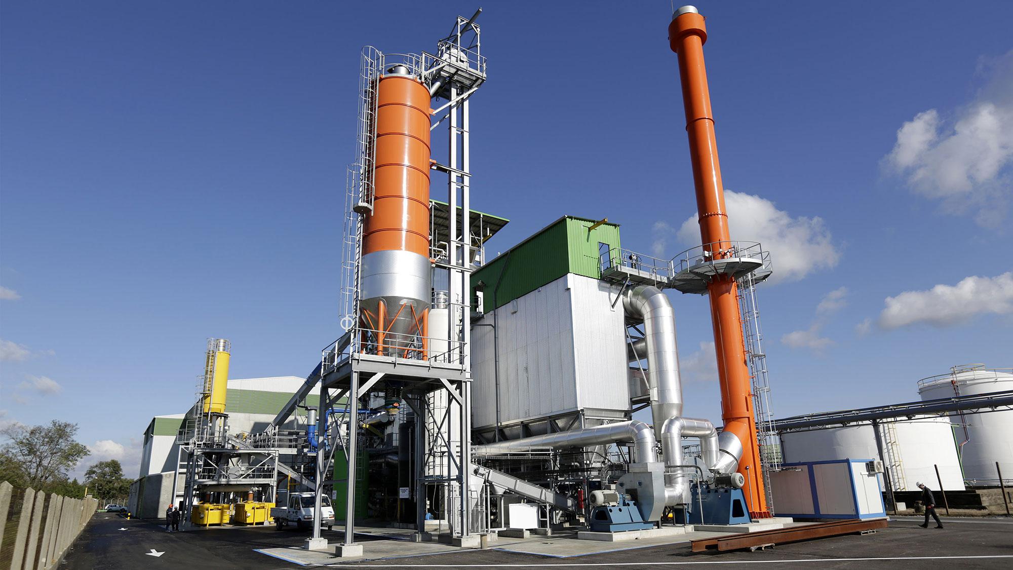Unité de production d'énergie verte Robin