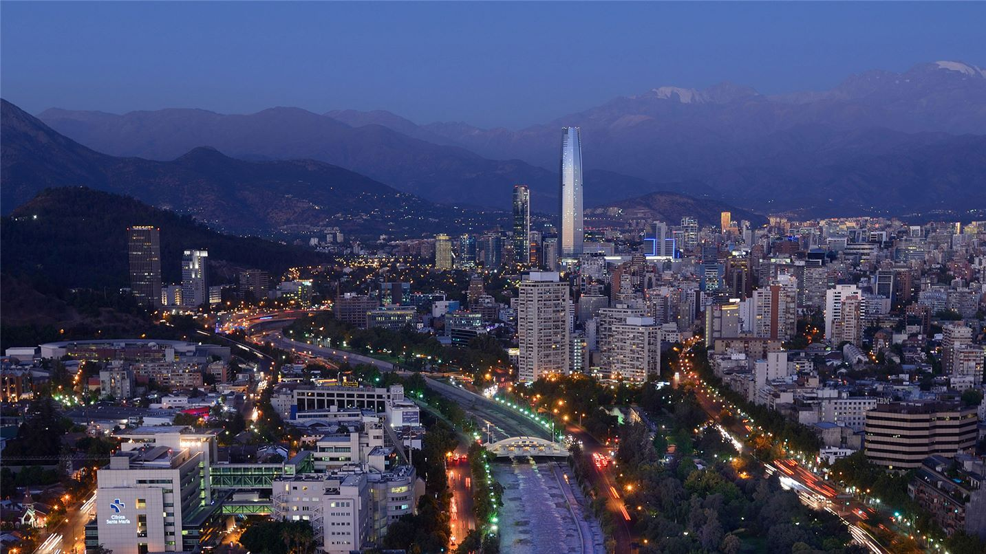 Santiago in Chile water and wastewater management