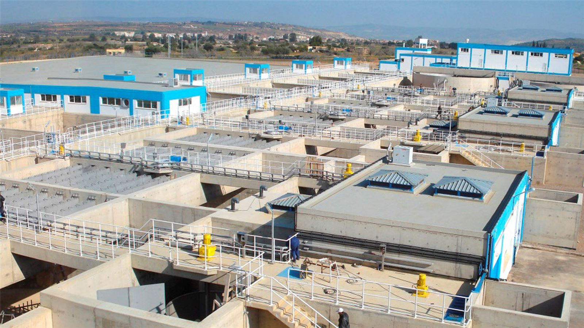 Sidi Lahdjel in Oran drinking water plant