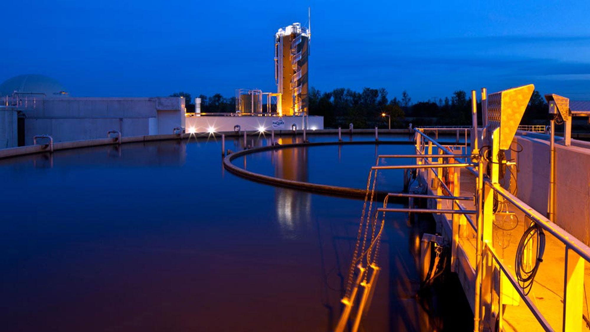 斯特拉斯堡城市和工业废水回收