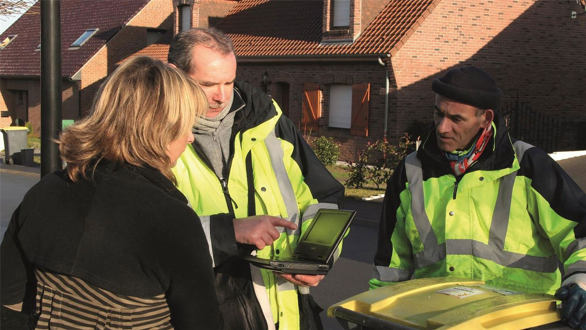 Valenciennes意识提高竞选活动废物管理