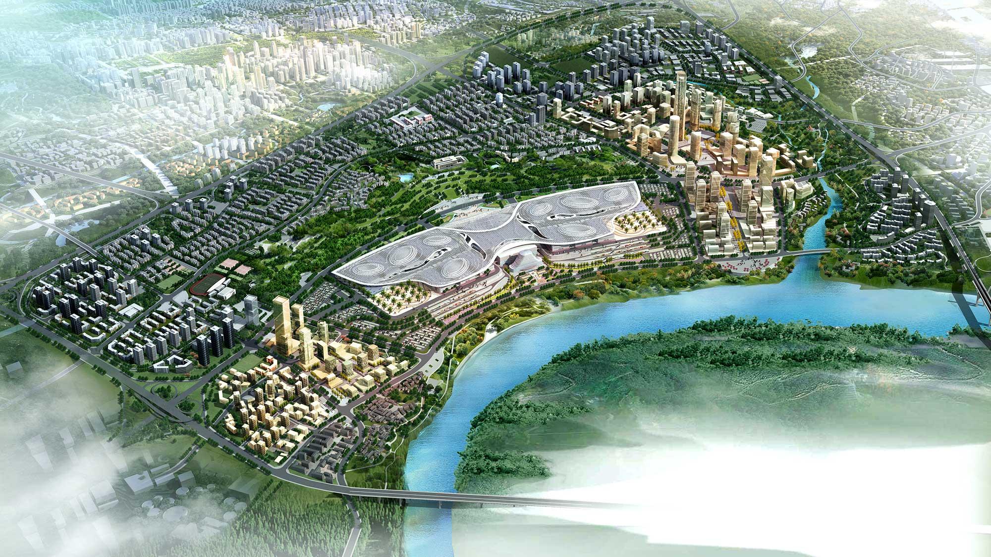 Chongqing Yuelai sponge city