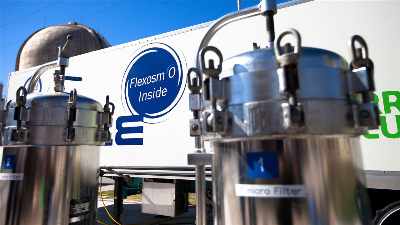 Mobile units for water and wastewater treatment
