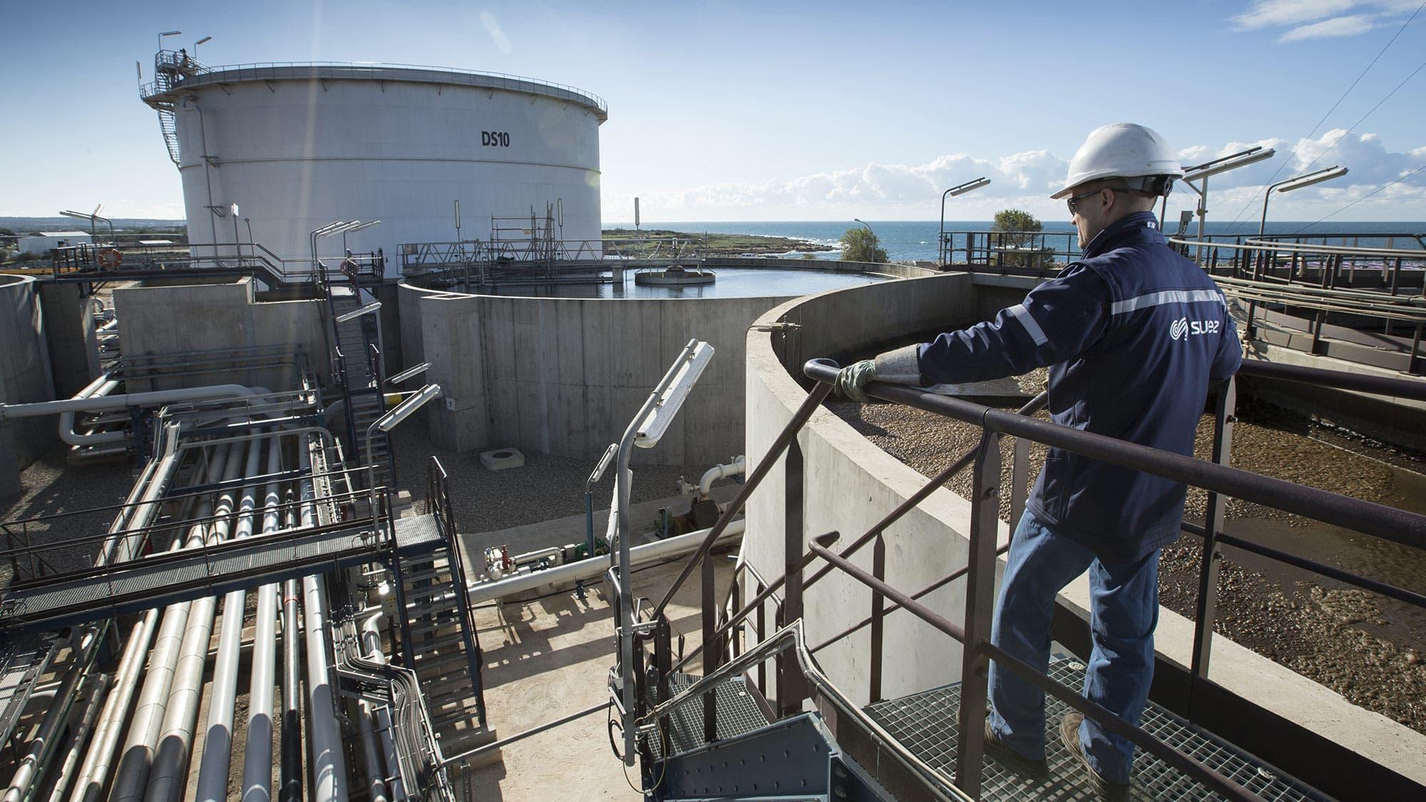 Gestion des réseaux d'eau d'un site industriel