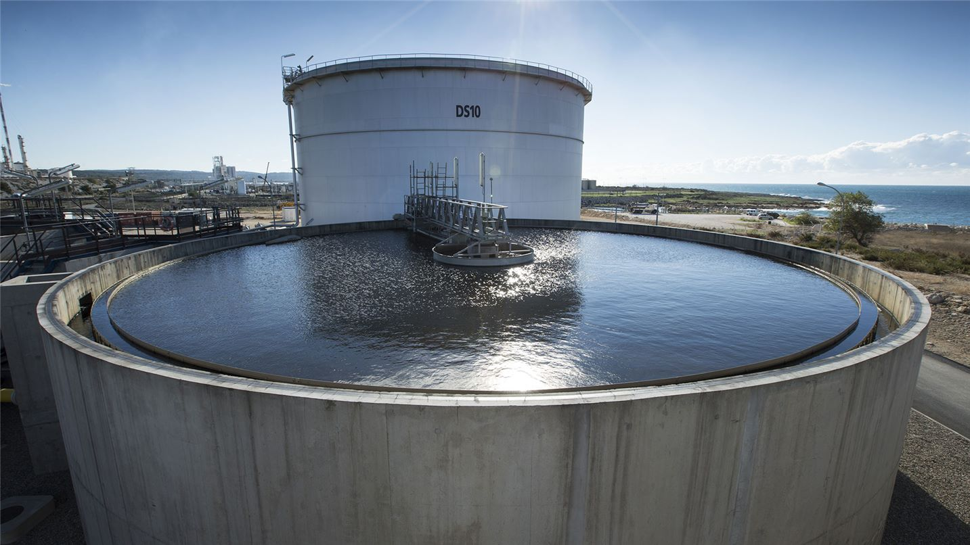 Station de traitement des effluents