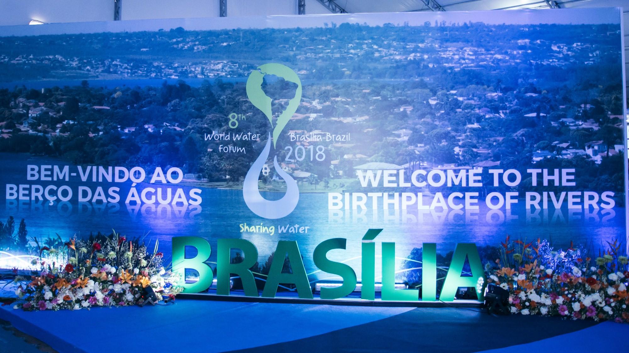 Birthplace of rivers Brasilia