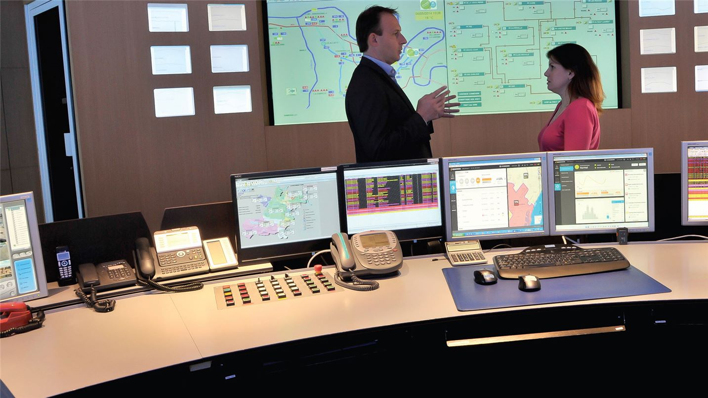 Centre de pilotage intelligent