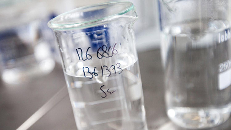 Micropolluants dans l'eau