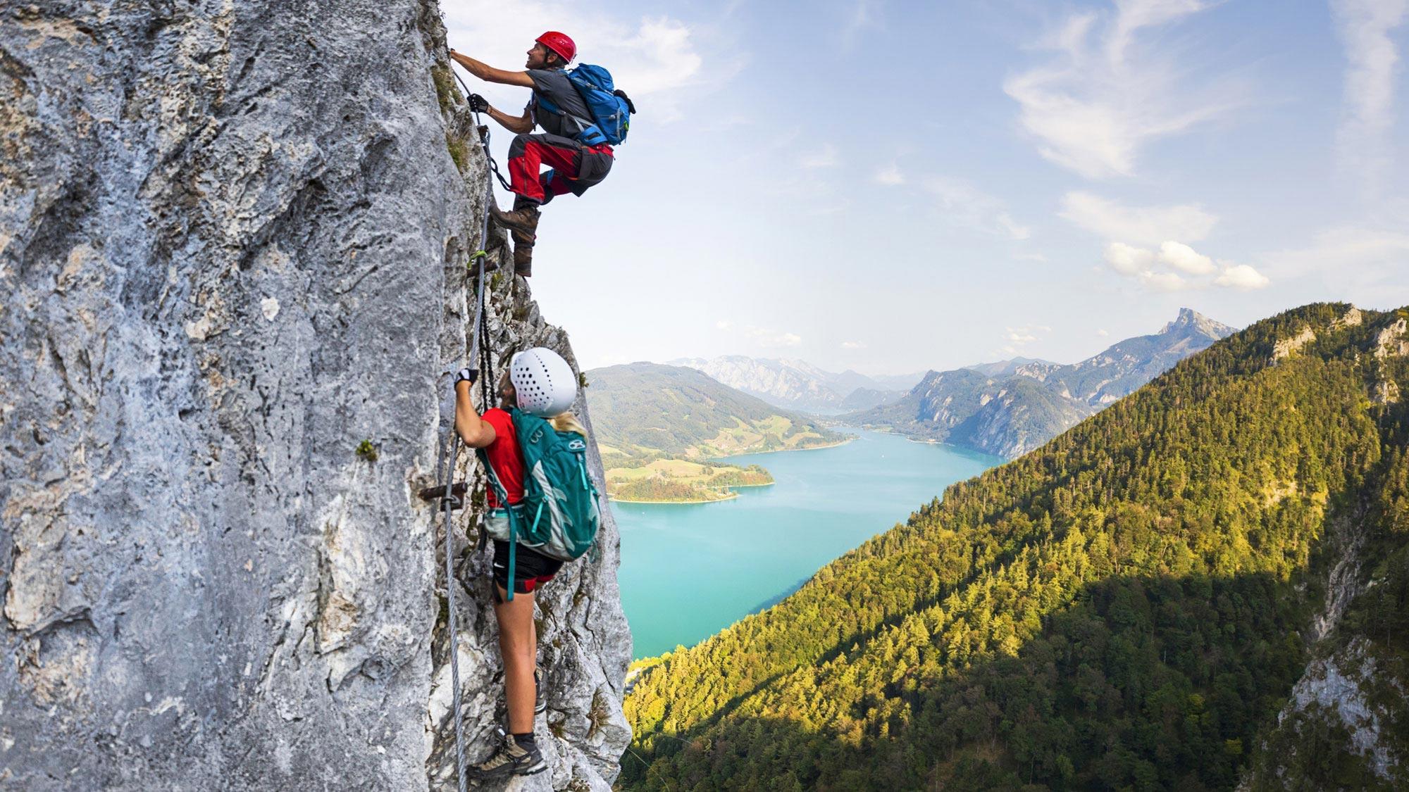 mountain climbing header