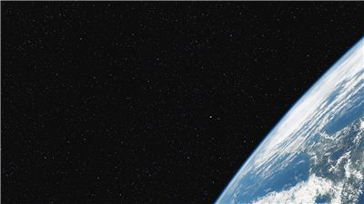 View of Earth from space