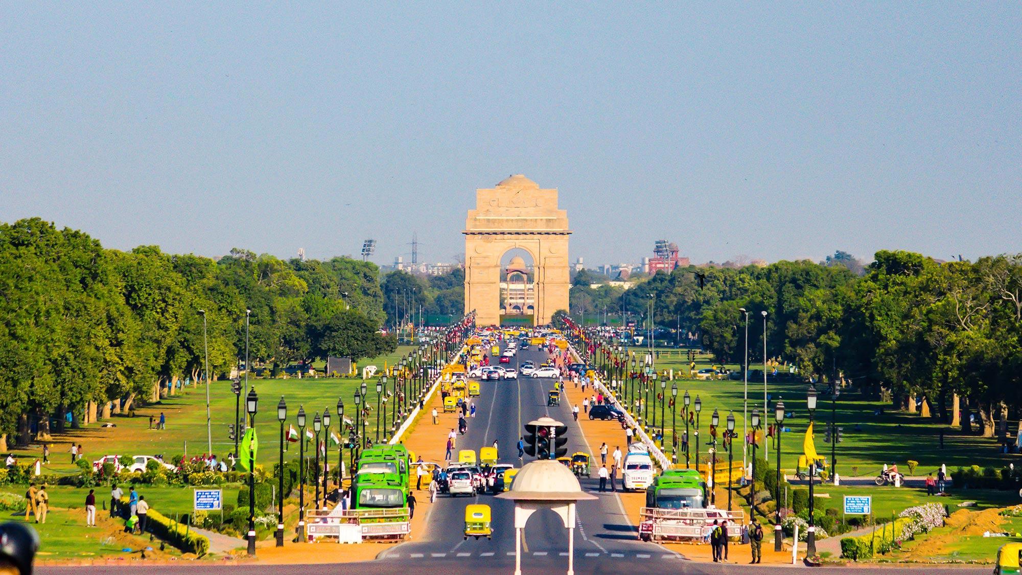 Rajpath India Gate